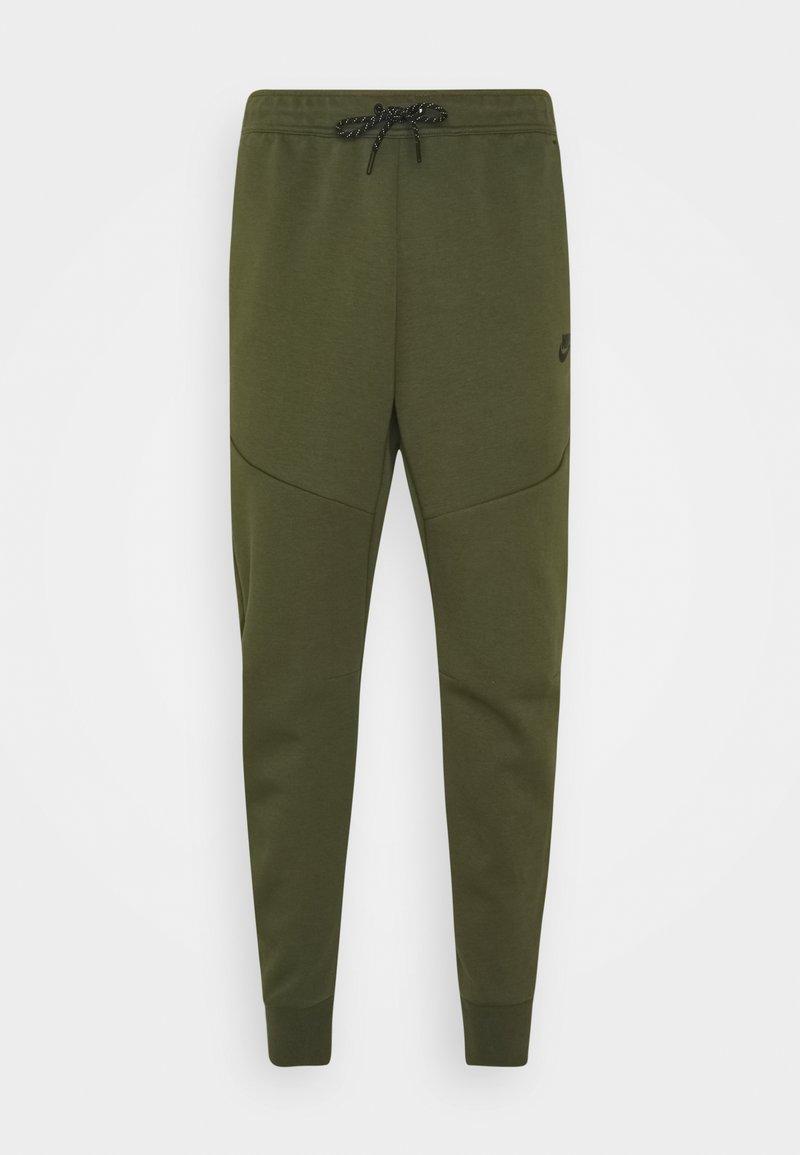 Nike Sportswear - M NSW TCH FLC JGGR - Träningsbyxor - rough green/black