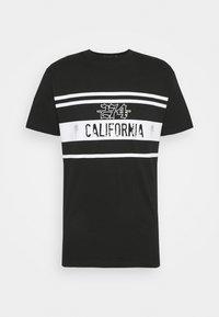 274 - CALIFORNIA ROSE TEE - Triko spotiskem - black - 3