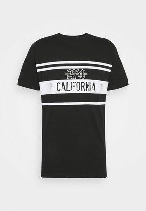 CALIFORNIA ROSE TEE - T-shirts print - black