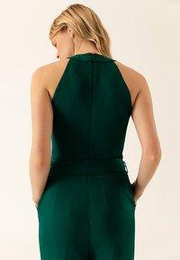 IVY & OAK - Tuta jumpsuit - dark green - 5