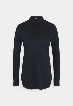 Button-down blouse - deep blue