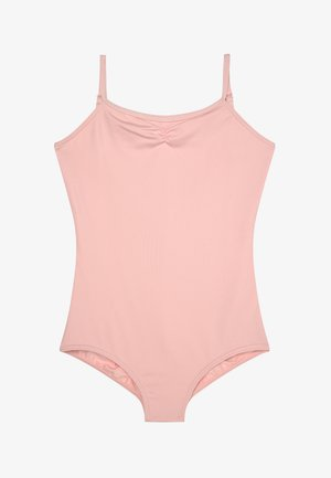 BALLET CAMI LEOTARD WITH ADJUSTABLE STRAPS - trikot na gymnastiku - pink