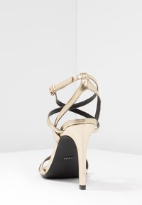 ONLY SHOES - ONLAILA CROSS  - High heeled sandals - gold - 5