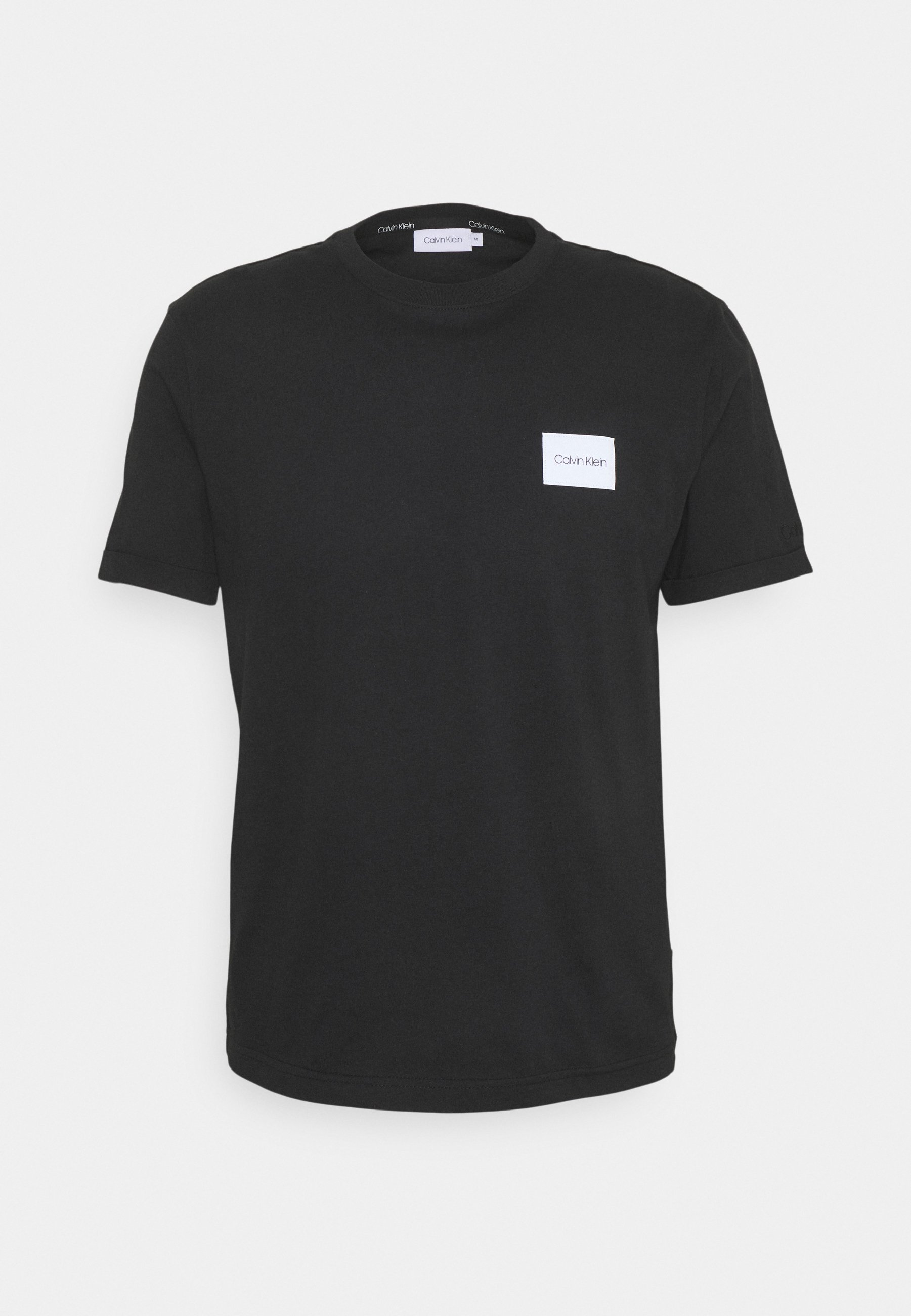 Men TURN UP LOGO SLEEVE - Basic T-shirt