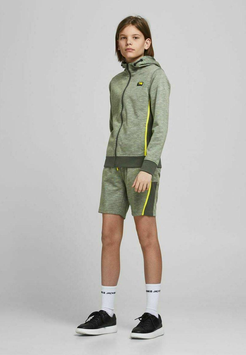 Jack & Jones Junior - Zip-up sweatshirt - oil green