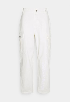 PANTS UNISEX - Cargo trousers - ecru