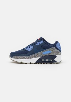 AIR MAX 90 UNISEX - Sneaker low - midnight navy/game royal/royal pulse/white