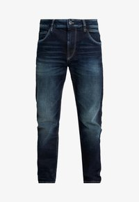TOM TAILOR - TRAD - Relaxed fit jeans - dark stone wash denim blue - 4