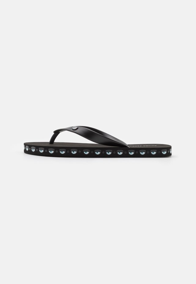 LOGOMANIA - Teensandalen - black