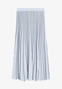 Mango - ARARE - A-line skirt - bleu - 5
