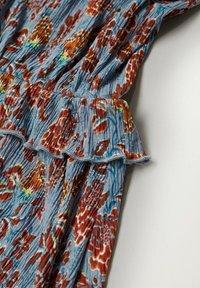Mango - Day dress - azul - 5