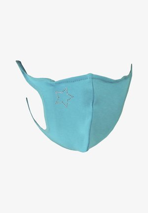 Maschera in tessuto - turquoise