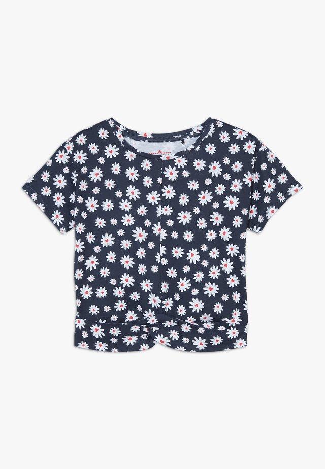 SMALL GIRLS  - Printtipaita - navy blazer