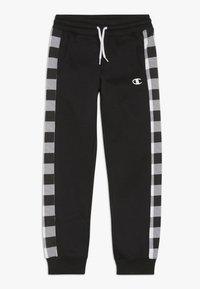 Champion - CHAMPION X ZALANDO PANT - Teplákové kalhoty - black - 0