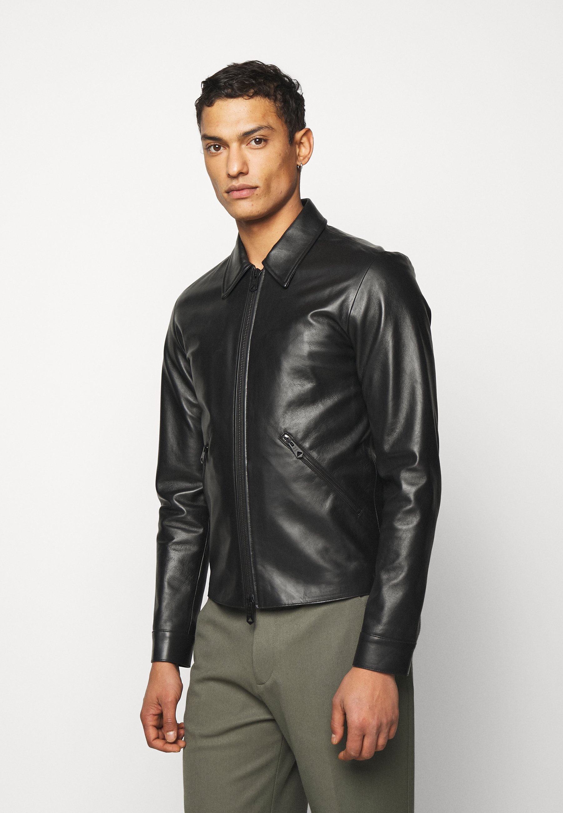 Men GENTS LEATHER JACKET - Leather jacket