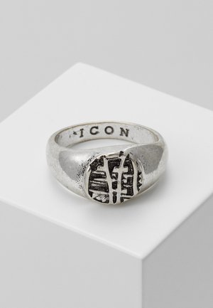 WRAPPED SIGNET - Ring - silver-coloured