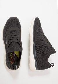 Skechers - BULGER - Sneaker low - charcoal - 1