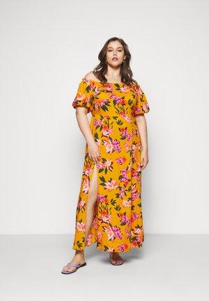 Maxi šaty - yellow