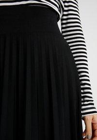 Anna Field Petite - A-linjainen hame - black - 4