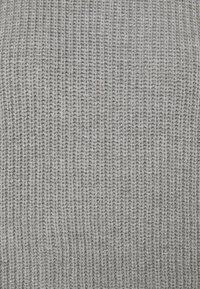 Selected Femme - SLFTAY VEST O-NECK - Jumper - light grey melange - 2