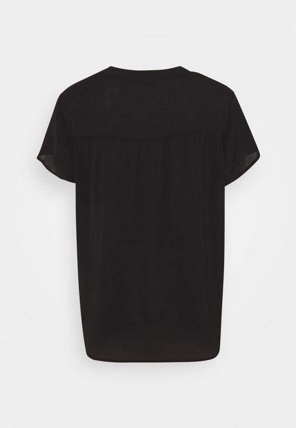 ONLY ONLSILLE - Bluzka - black/czarny GYAV