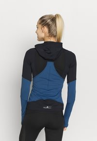 adidas by Stella McCartney - HOODED - Treningsskjorter - black/blue - 2