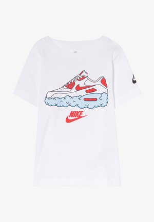 AIRMAX CLOUDS TEE - T-shirt con stampa - white