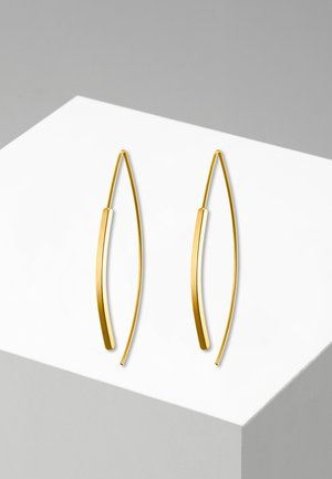 CREOLE LONGA POLIERT - Earrings - goldfarben