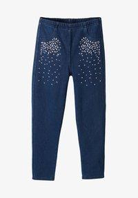 Calzedonia - Leggings - Trousers - blu jeans - 0