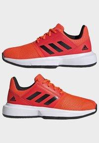 adidas Performance - COURTJAM - Clay court tennis shoes - orange - 10