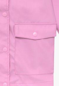 Name it - NKNMIL RAIN JACKET - Vodotěsná bunda - pastel lavender - 3