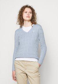 Polo Ralph Lauren - CLASSIC - Jumper - pale blue - 3