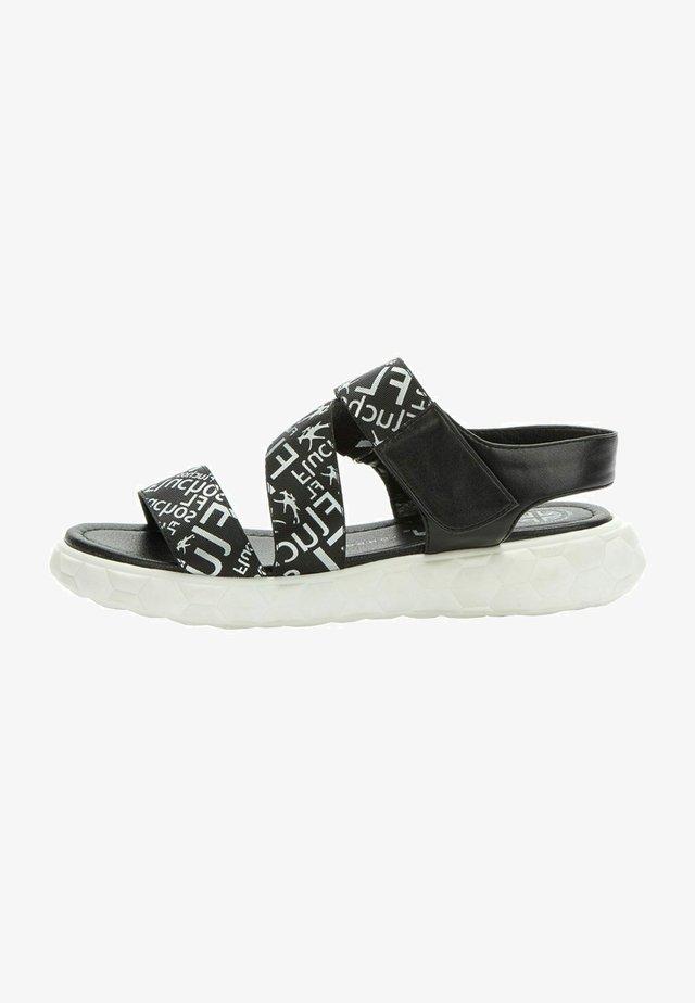 Sandals - black   silver