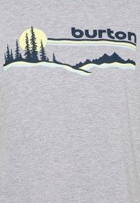 Burton - CARLOW TEE GRAY HEATHER - T-shirt con stampa - gray heather - 2