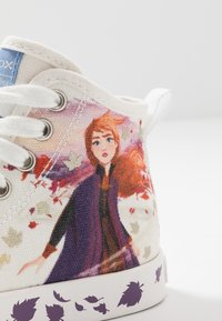Geox - JR CIAK GIRL FROZEN ELSA & ANNA - High-top trainers - white/mutlicolour - 6