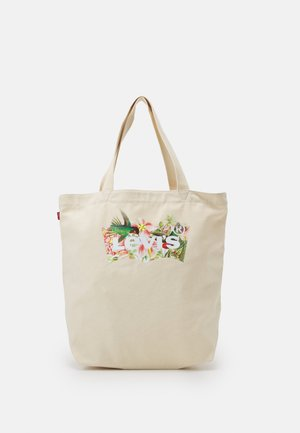 WOMENS SEASONAL BATWING TOTE - Shopping bag - ecru