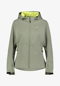 Meru - Soft shell jacket - khaki - 0