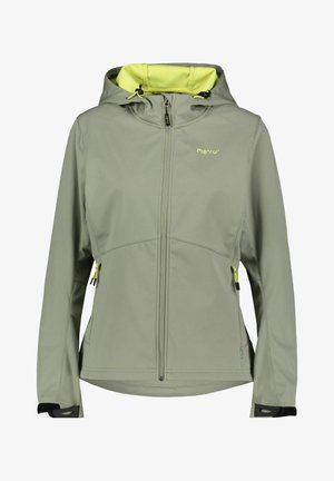 Soft shell jacket - khaki