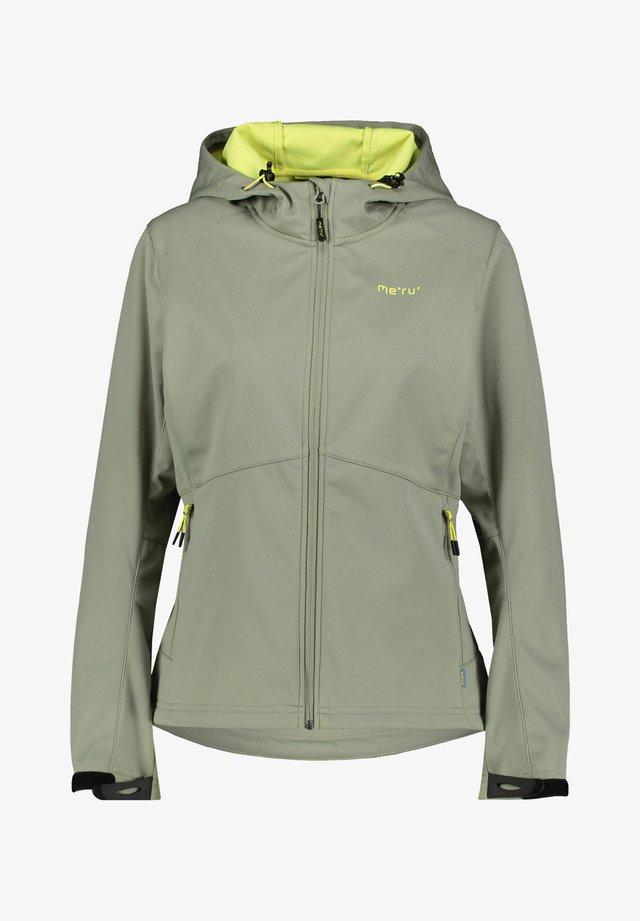Soft shell jacket - khaki