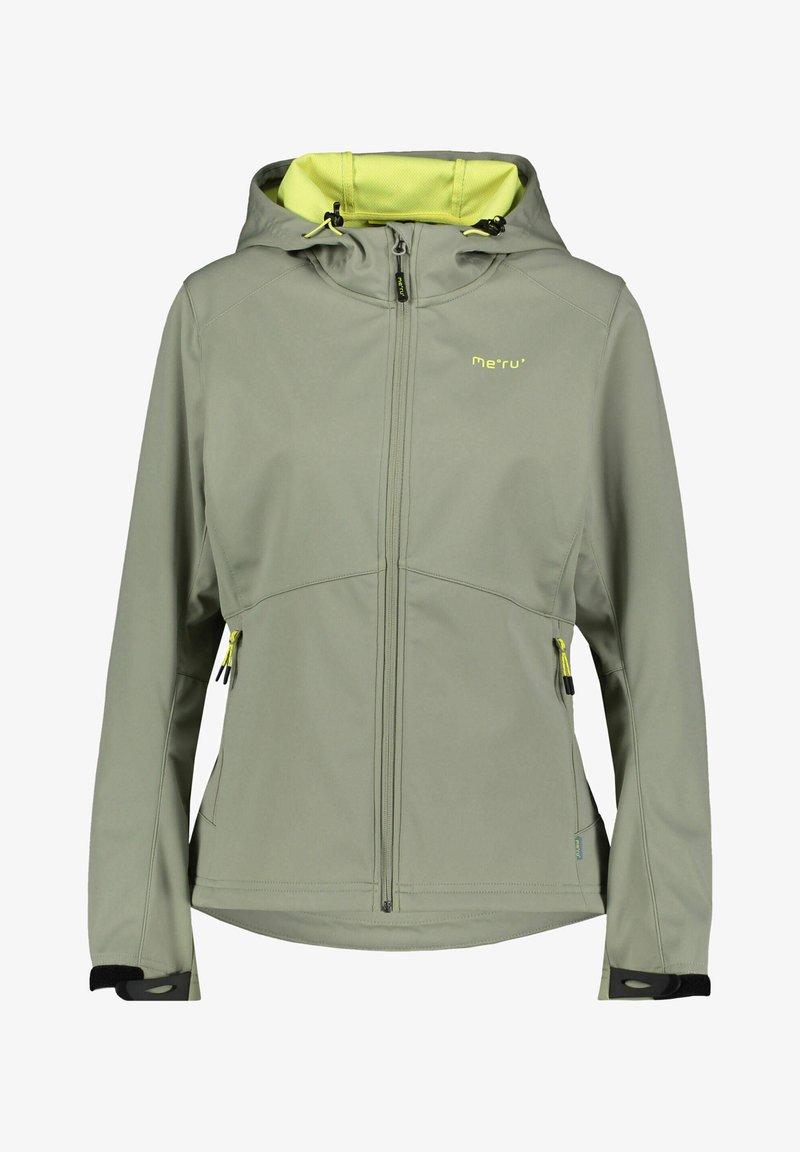 Meru - Soft shell jacket - khaki