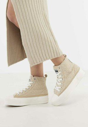 KAYA MID - Sneakers hoog - beige