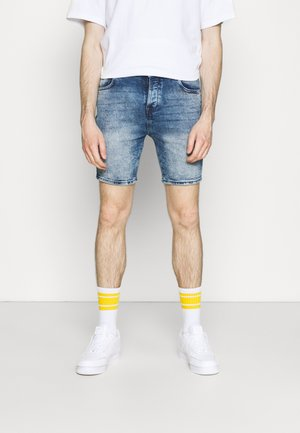 HALSALL - Lühikesed teksad - light blue