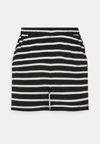ONLY Tall - ONLMAY LIFE STRIPE SET  - Toppi - black/cloud - 2