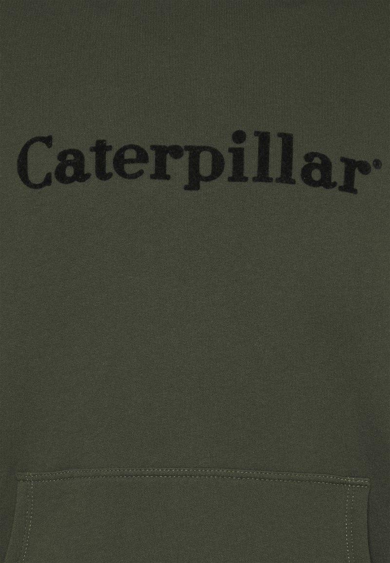 Caterpillar CATERPILLAR EMBROIDERY HOODIE - Sweatshirt - army/oliv HWvx06