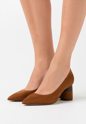 Klassiske pumps - brown