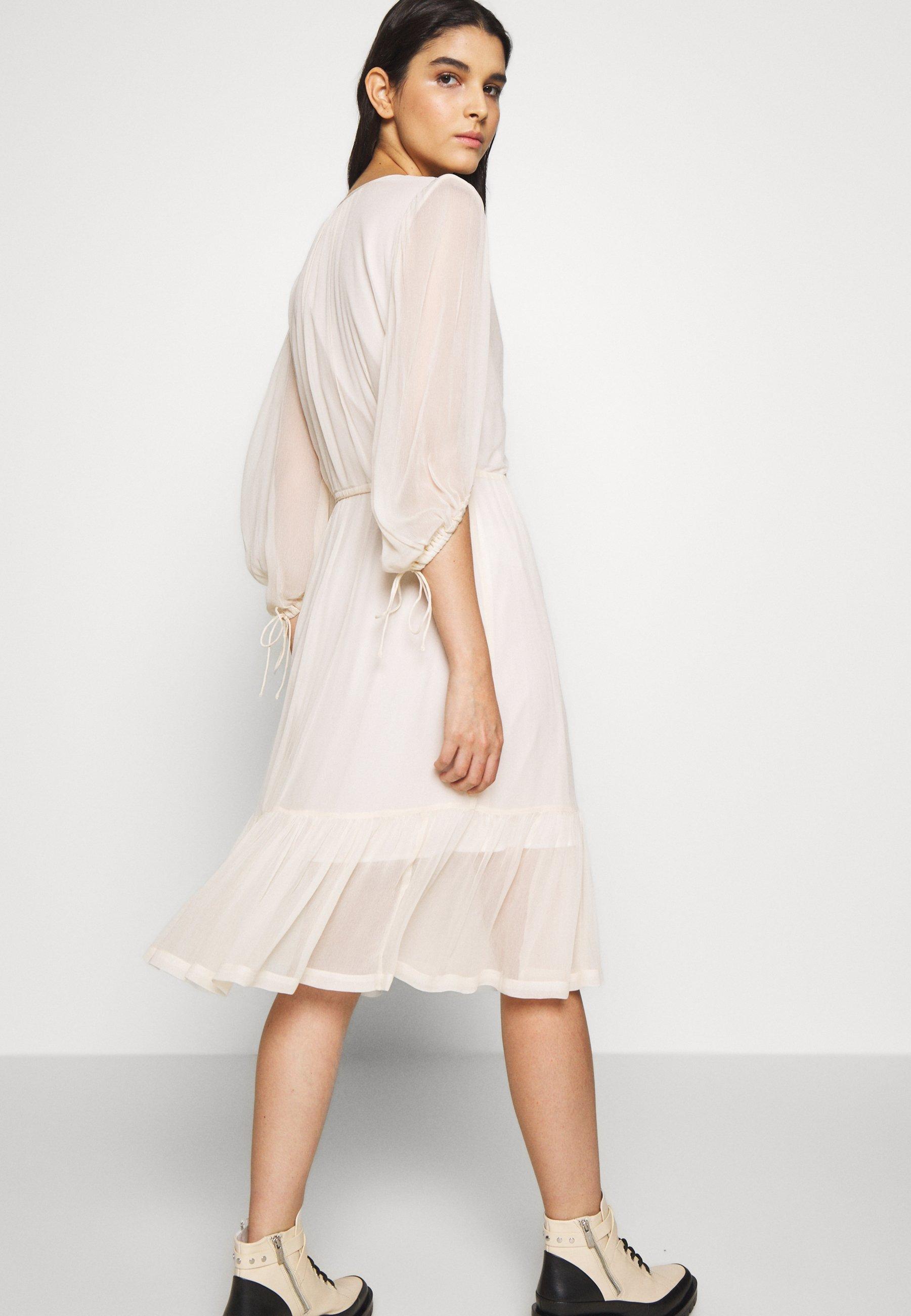 Tania cena Duża obniżka DESIGNERS REMIX MINDY EXCLUSIVE DRESS - Sukienka letnia - lemonade | Odzież damska 2020 rjqmw