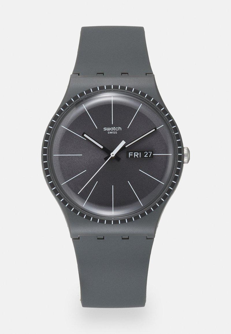 Swatch - GREY RAILS - Watch - grey