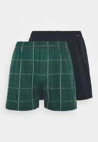 Schiesser - 2 PACK  - Boxer shorts - dark green/dark blue - 3
