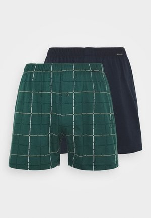 2 PACK  - Boxer shorts - dark green/dark blue