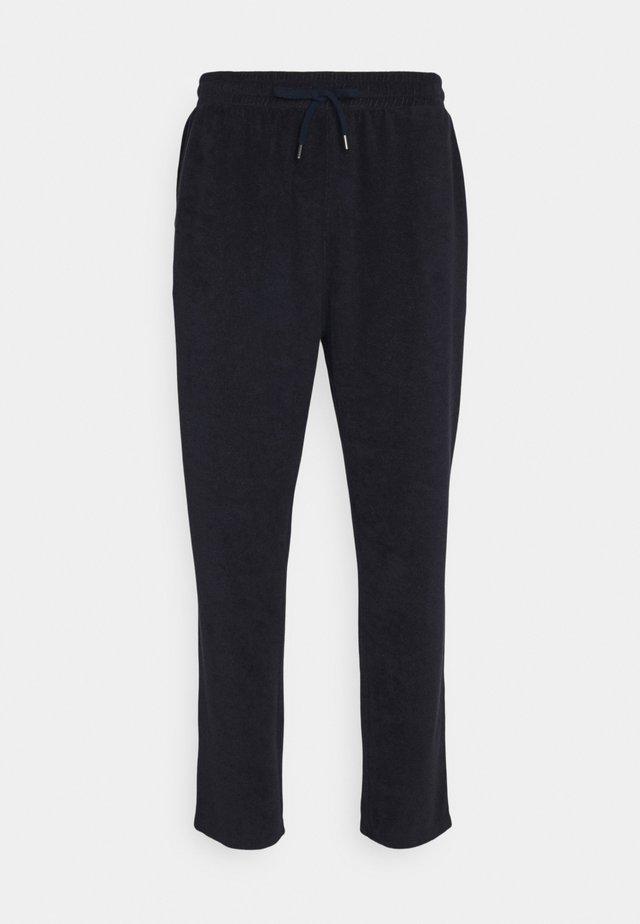 TOWELING PANT - Teplákové kalhoty - dark night